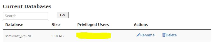 Veritabanında ekli kullanıcı bulunmuyor