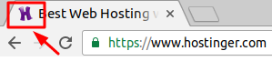 Hostinger Favicon