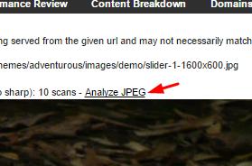 JPEG Analizi