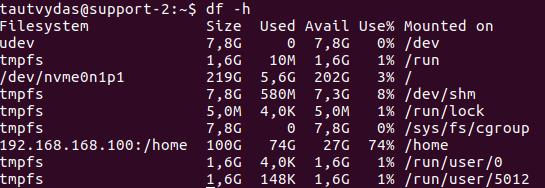 Linux Disk Kullanımı