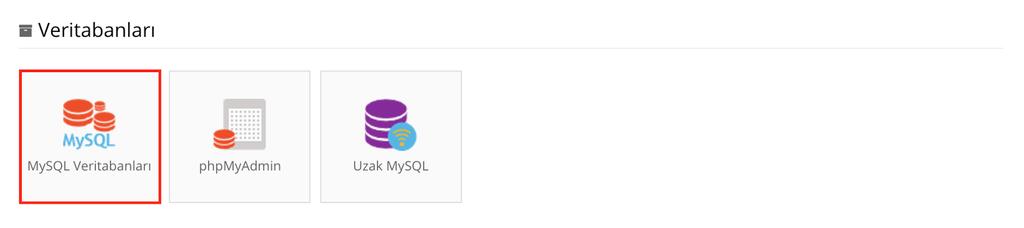 Hostinger MySQL Veritabanları