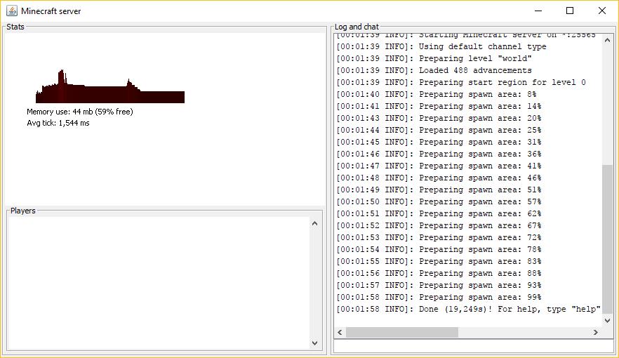 Windows'da başarıyla bir Minecraft sunucusu çalıştırmak