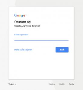 Google Giriş