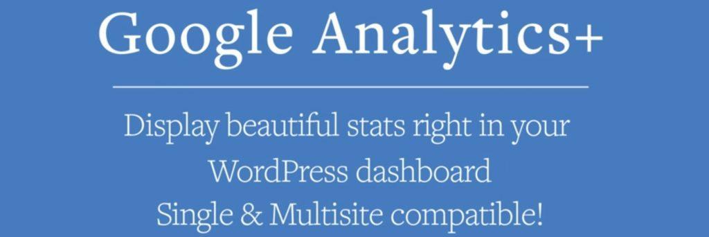 Google Analytics + WordPress eklentisi