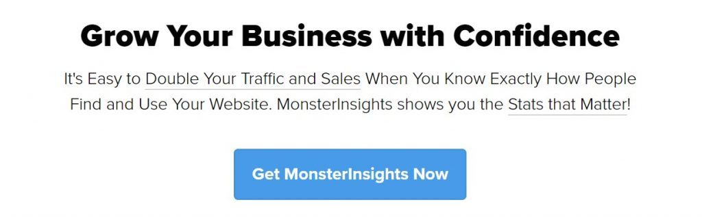 Monster Insights WordPress Google Analytics eklentisi