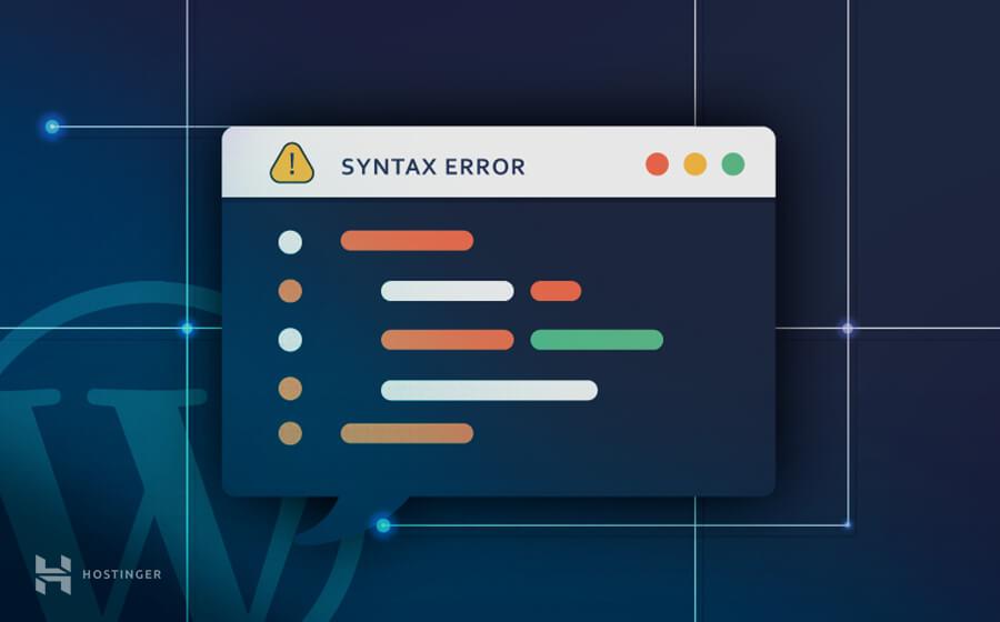 Syntax error WordPress'de nasıl çözülür?