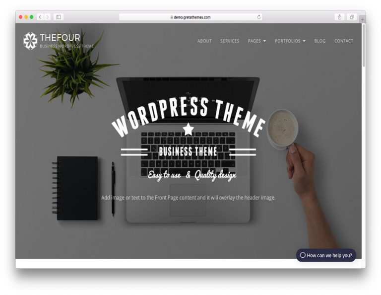 WordPress TheFour Lite Teması