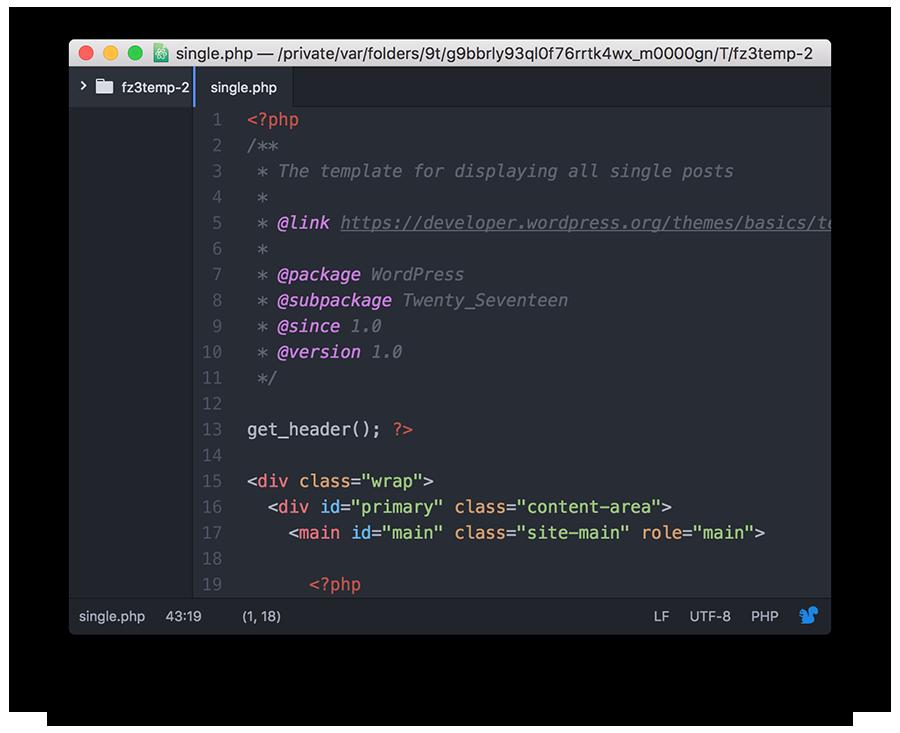 WordPress Syntax Error'a Neden Olan Dosya