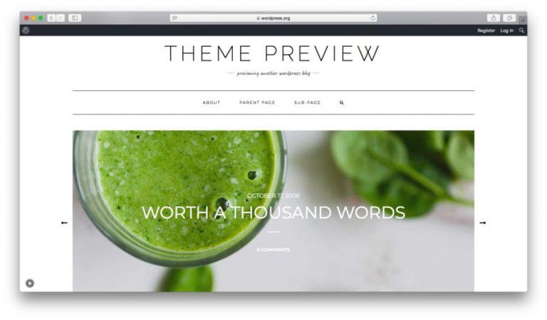 WordPress Kale Teması