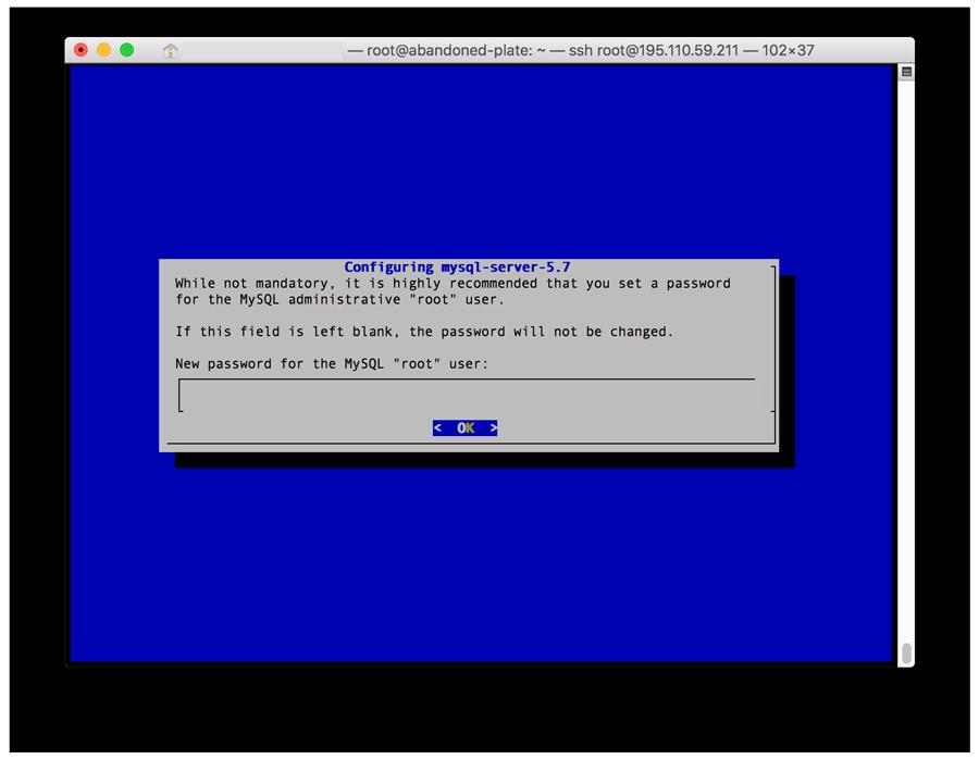 LAMP Sunucu Ubuntu MySQL Kurulumu