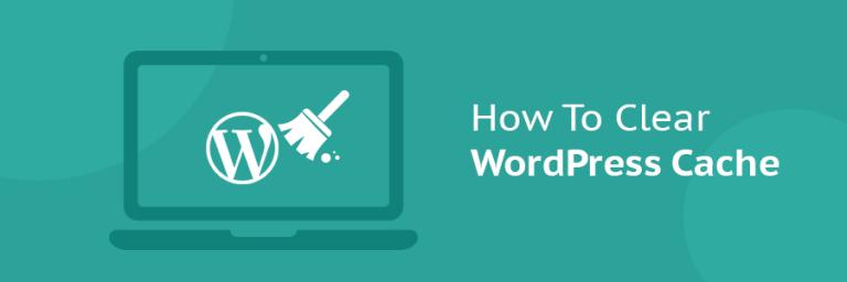 WordPress Önbellek (Cache) Temizleme