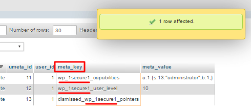 SQL sorgu ekini manuel değiştirme işlemi