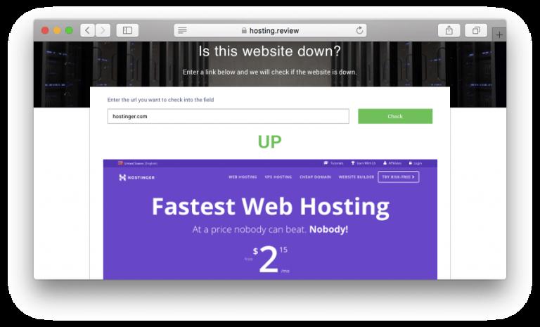 Online araçlar kullanarak site durumunu kontrol etme
