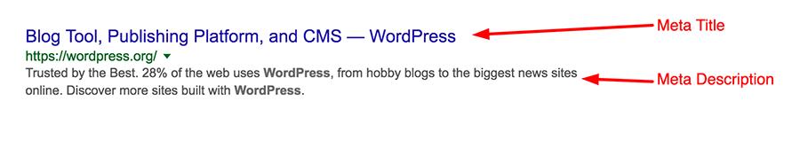 Google Arama Sonuçlarında Görünen WordPress Meta Başlık ve Meta Açıklama