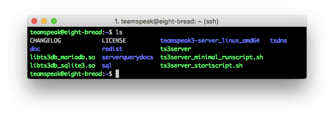 TeamSpeak 3 Server içerikleri