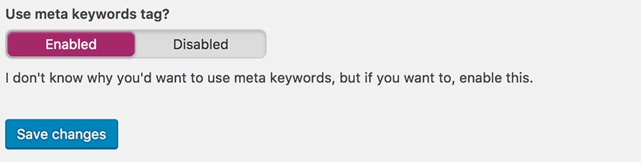 WordPress anahtar kelimeler ekleme