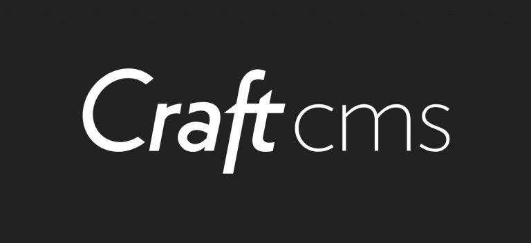 CraftCMS Logo Görüntüsü