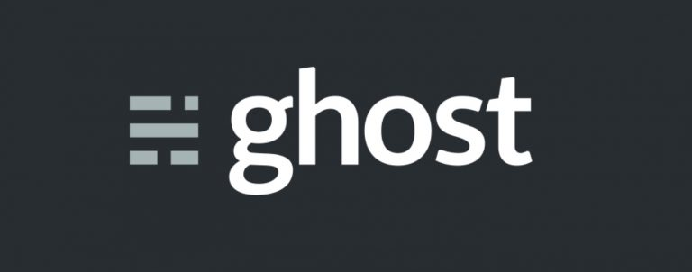 Ghost CMS Logo Görüntüsü