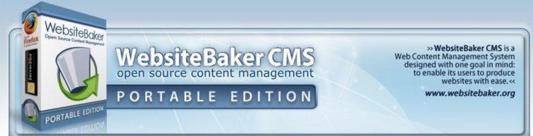 WebsiteBaker Logo Görüntüsü