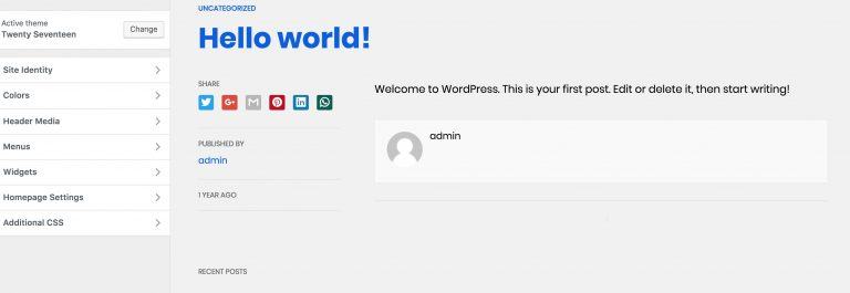 AWPforWP Görünüm > AMP önizleme görünümü