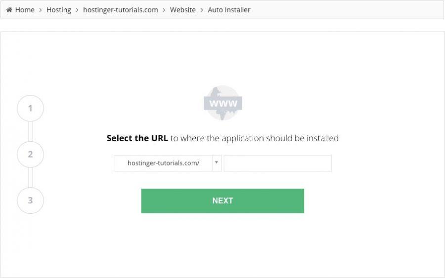 Hostinger WordPress Kurulumu