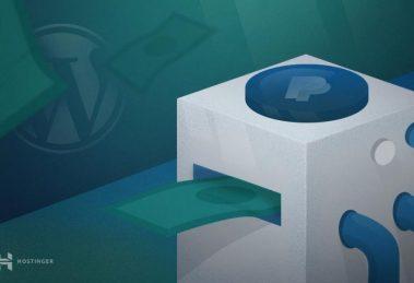 WordPress PayPal Bağış Butonu Oluşturma
