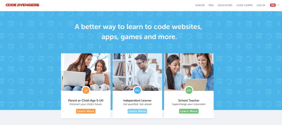 Code Avengers ile online ücretsiz yazılım öğrenmek