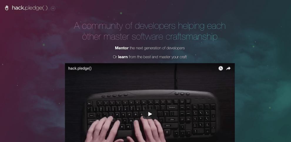 Hack Pledge ile online ücretsiz yazılım öğrenmek