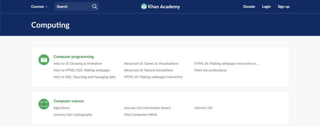 Khan Academy ile online ücretsiz yazılım öğrenmek