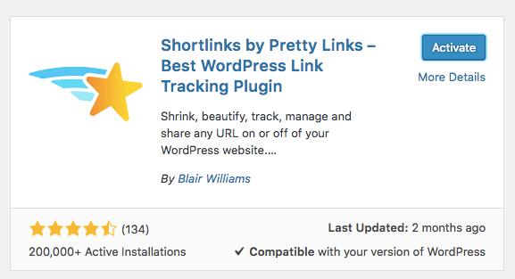 Pretty Links Kurulumu