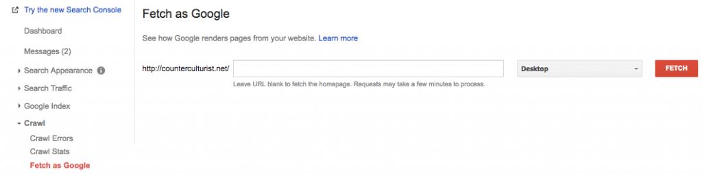 Güncel içeriği taraması için Google'ı zorlayın