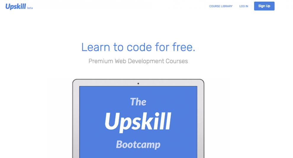 Upskill ile online ücretsiz yazılım öğrenmek