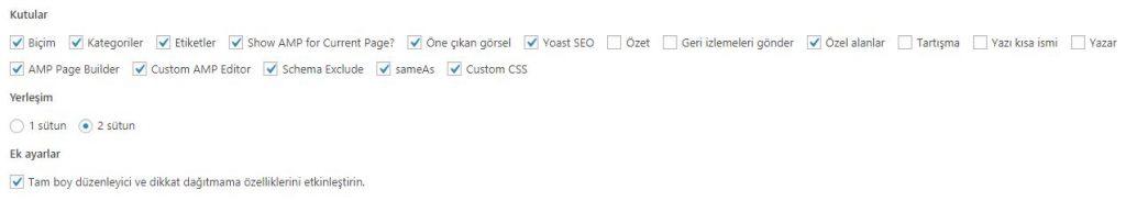 WordPress Özel Alanlar
