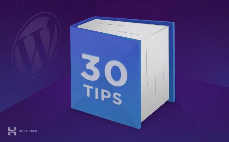30 WordPress SEO Tekniğiyle Arama Motoru Derecesini Arttırma