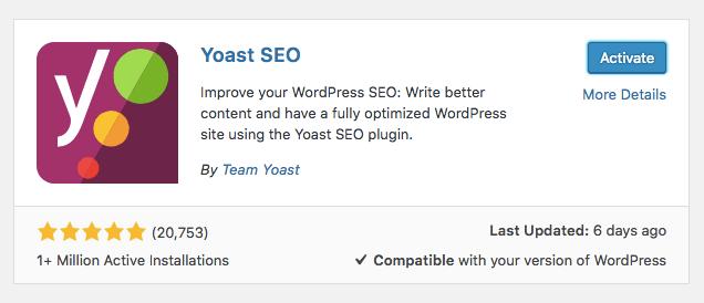 WordPress SEO Tekniği - Yoast SEO Eklentisi Kurulumu