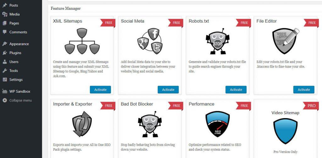 Eklentinin robot.txt özelliğini etkinleştirme
