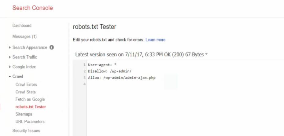 Google Search Console Test Özelliği