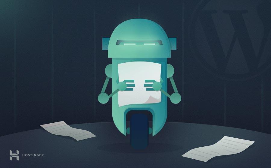 WordPress robots.txt nedir