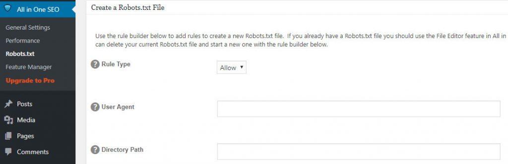 robots.txt dosyasına yeni kurallar ekleme