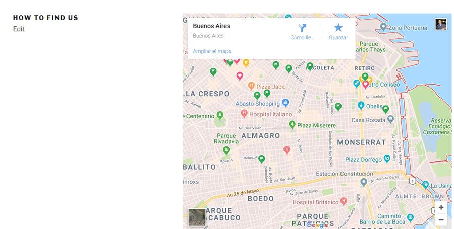 Google haritanızı kontrol edin