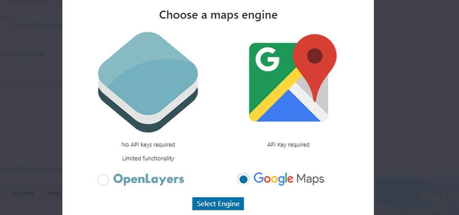 haritalar motoronu belirleme