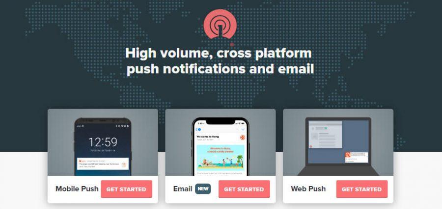 web push hizmet hesabı oluşturma
