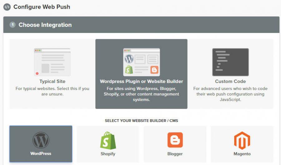 WordPress bildirim seçeneğini işaretleme