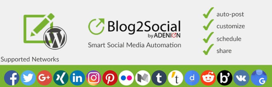 Blog2Social eklentisi