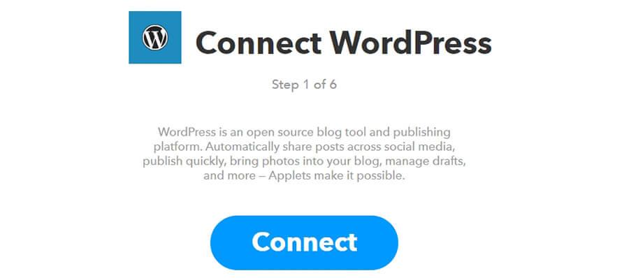 WordPress hesabınıza bağlanma