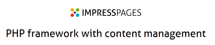 ImpressPages anasayfası