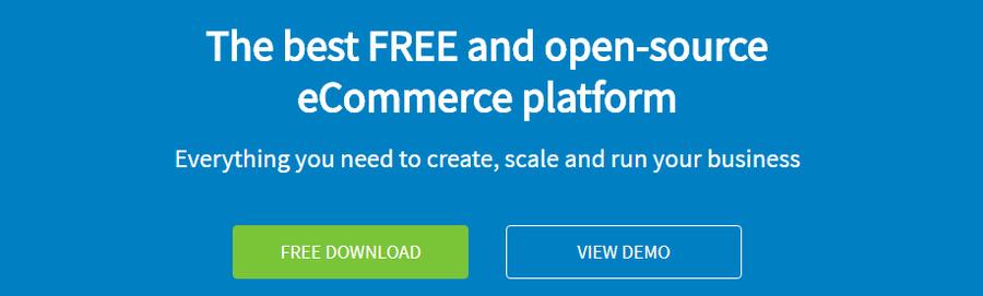 OpenCart anasayfası