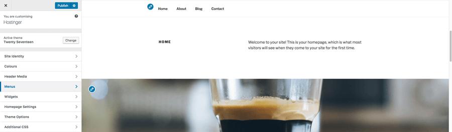 WordPress tema özelleştirme