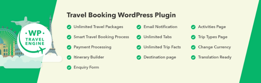 WP Travel Engine eklentisi