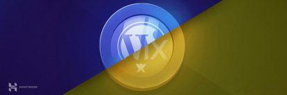 Wix vs WordPress karşılaştırması.
